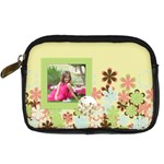 Spring Blossom Camera Case - Digital Camera Leather Case