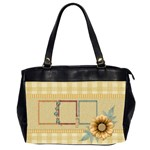 Quilted Oversized 2 sided office bag - Oversize Office Handbag (2 Sides)