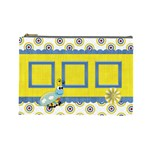 Silly Summer Fun Large Cosmetic Bag - Cosmetic Bag (Large)
