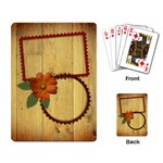 Rustic-playing cards - Playing Cards Single Design (Rectangle)