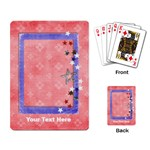 Red, White & Blue - playing cards - Playing Cards Single Design (Rectangle)