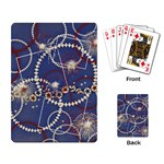 Red, White & Blue Fireworks- playing cards - Playing Cards Single Design (Rectangle)