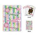 Flowers for girls- playing cards - Playing Cards Single Design