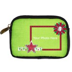 Merry and Bright Camera Case 1 - Digital Camera Leather Case