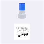 Rubber Stamp small round - Rubber Stamp Round (Small)