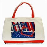 Red, White & Blue-Classic Tote Bag-red - Classic Tote Bag (Red)