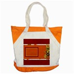 Tangerine Breeze Tote 1 - Accent Tote Bag