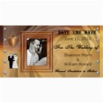 Wedding Save The Date Cards #4 - 4  x 8  Photo Cards