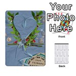 2011 calendar  - Playing Cards 54 Designs (Rectangle)
