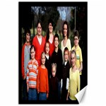grandkids black background - Canvas 24  x 36