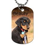 beauty tag - Dog Tag (One Side)