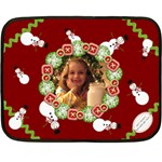 happy holidays blanket - Fleece Blanket (Mini)