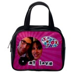 Give me kisses my love - Classic Handbag (One Side)