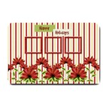 Happy Holidays Small Welcome Mat - Small Doormat