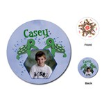Playing Cards Round Template - Playing Cards Single Design (Round)
