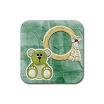 HH Coaster Set 1 - Rubber Square Coaster (4 pack)