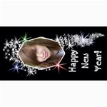 8x4 Photo Card Template Holiday Sparkle - 4  x 8  Photo Cards