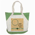 Quilted+Grandma Word Art Tote 1 - Accent Tote Bag