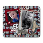 my boy all star mousepad - Large Mousepad