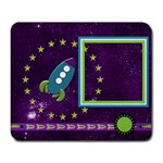 A Space Story Mousepad 1 - Large Mousepad