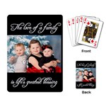 Life s Greatest Blessing Layout - Playing Cards Single Design (Rectangle)