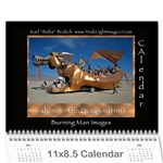 Burning Man Art and Cars 2011 - Wall Calendar 11  x 8.5  (12-Months)
