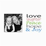 Love and laughter card - 4  x 8  Photo Cards