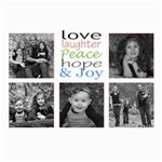 love and laughter card - 5  x 7  Photo Cards