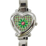 Merry and Bright Heart Watch 1 - Heart Italian Charm Watch