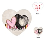 Love Valentine Heart Playing Cards - Playing Cards Single Design (Heart)