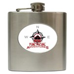 NWTA flask - Hip Flask (6 oz)
