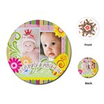 baby easter - Playing Cards Single Design (Round)