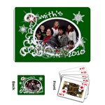 Playing Cards Single Design Template Christmas - Playing Cards Single Design (Rectangle)