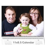 2011 General - Claire Only - Wall Calendar 11  x 8.5  (12-Months)
