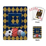 Games We Play Playing Cards 1 - Playing Cards Single Design (Rectangle)