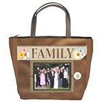 Family Memories Bucket Bag