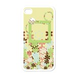 Spring Blossoms IPhone Case 1 - iPhone 4 Case (White)