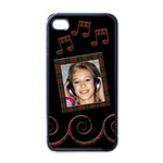 Music - i-PHONE case - iPhone 4 Case (Black)