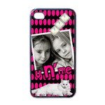 You and me - i-PHONE case - Apple iPhone 4 Case (Black)