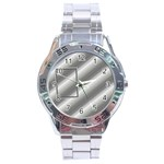 Aluminium stainless steel watch - Stainless Steel Analogue Watch