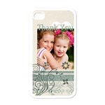merry christmas - Apple iPhone 4 Case (White)