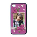 Apple iPhone 4 Case (Black)  - I Love You