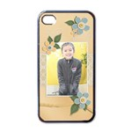 Apple iPhone 4 Case (Black)  - Unchanging Love
