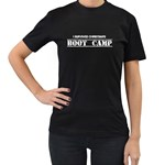 boot camp - Women s T-Shirt (Black) (Two Sided)