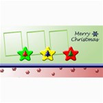 Merry Christmas 8x4 photo card - 4  x 8  Photo Cards