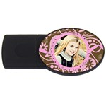 pink chocolate usb - USB Flash Drive Oval (4 GB)