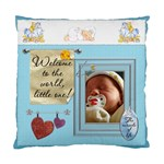 Baby Boy 2-Sided Cushion Case - Standard Cushion Case (Two Sides)
