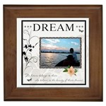 Dream  Framed Tile