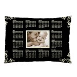 2011 Calendar Pillowcase creme swirls - Pillow Case