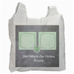 Gray Custom Photo Recycle Bag - Recycle Bag (One Side)